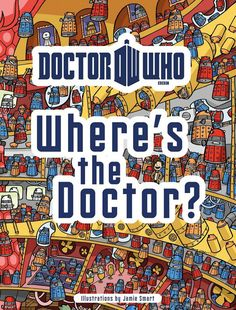 Doctor Who Where's the Doctor? Book