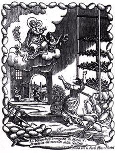 La madonna delle gallette. Stampa remondiniana