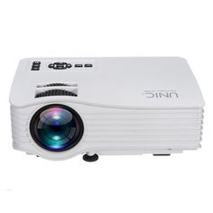UC36 LED Mini Projector Support 1080P 1000 Lumens  640 x 480 Pixels Home Cinema Theater