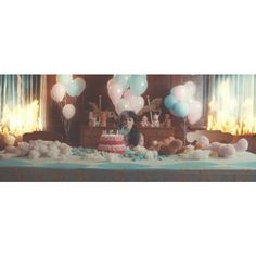 pity party on Tumblr ❤ liked on Polyvore featuring melanie martinez