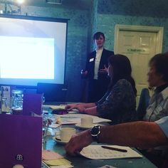 Great 1st time spotlight by Anthea Kenyon to a #bunchofleeks at #bforb #leek this morning
