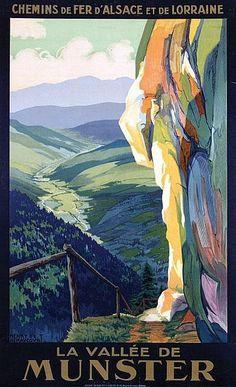 Henri de Renaucourt: La Vallee de Munster, Circa 1930