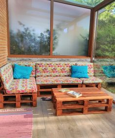 Mideco added a new photo. Outdoor Sectional, Sectional Sofa, Outdoor Furniture, Outdoor Decor, Diy, Patio, Blog, Home Decor, Ideas