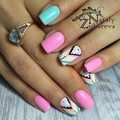 Manucure Pour plus -> anais_Fbg Fabulous Nails, Perfect Nails, Rodeo Nails, Western Nail Art, Cute Nails, Pretty Nails, Indian Nails, Country Nails, Tribal Nails