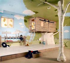 Tree house kids bedroom
