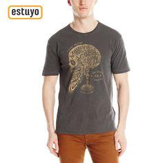 Camiseta Lucky Brand Bearded Skull Para Hombre |Envíos y Devoluciones Gratis|