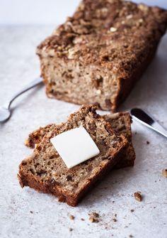 Apple Oatmeal Breakfast Bread | A Beautiful Plate