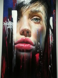 'AWOL Fabric'   #Adnate - More #streetart at www.Streetart.nl
