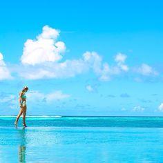 Walking On A Dream- Four Seasons, Maldives  www.theroadlestraveled.com