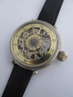 Vintage Stylish MOLNIJA Regulateur Skeleton Masonic Men's Wrist Watch | eBay