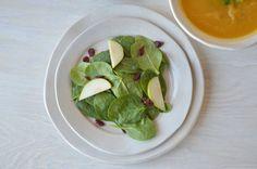 Ready To Ship Set of 4 Handmade Ceramic Salad by jillzeidler