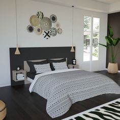 Discover recipes, home ideas, style inspiration and other ideas to try. Room Design Bedroom, Home Decor Bedroom, Living Room Decor, Bedroom Designs For Couples, First Apartment Essentials, Couple Bedroom, Room Inspiration, Interior Design, Design Ideas