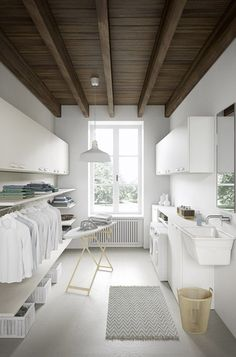 More ideas below: Unfinished Basement laundry room Layout Ideas Before And After Basement laundry room Makeover DIY Basement laundry room Organization Room Makeover, House, Laundry Mud Room, Home, Modern House, Room Remodeling, House Interior, Basement Laundry Room Makeover, Modern Laundry Rooms
