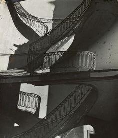 Bill Brandt  Bombed Regency Staircase