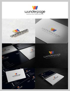 Create a stunning logo and stationary for wunderpage by Light™