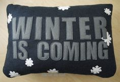 Curl up in front of the fire... #cushions