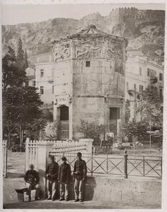 A set of rare and amazing photos of Greece from the century. Tourists on Parthenon, Athens, Greece, circa 1860 Athens from Acr. Greece Pictures, Old Pictures, Old Photos, Rare Photos, Vintage Pictures, Attica Athens, Athens Greece, Athens Acropolis, Old Greek