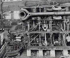 Afbeeldingsresultaat voor titanic engine room