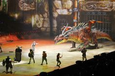 DreamWorks' How to Train Your Dragon Live Spectacular.  We went to go see it when they were in OC and it was so much fun!