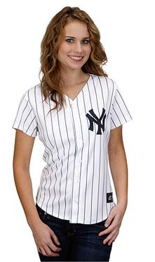 44d9d90c3cb Majestic Women s Plus Size New York Yankees Replica Jersey