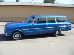 1961 Ford Falcon Wagon Portfolio | SoCal Paint Works | Automotive Restoration