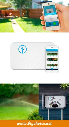 Buy Rachio smart sprinkler controller to control watering using your smartphone, laptop or just ask Alexa.
