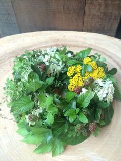 wreath of herbs