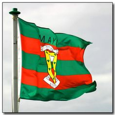 The Mayo flag, flying proudly on the day of the 2006 All-Ireland Gaelic Football final. Sadly, Mayo lost to Kerry on the day, but not for want of local support. Football Final, Classic Songs, Ireland, Doctors, Flags, Wealth, Green, Inspiration, Fashion