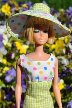 American Girl Barbie in Lunch on the Terrace (1966-1967)