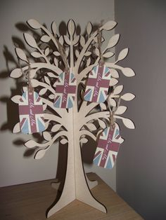 3D Slot Together Wooden Wishing Tree by thepenciltree on Etsy, $29.99
