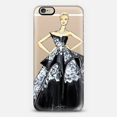 @casetify phone case with Brooke Hagel #fashionillustration @brooklit