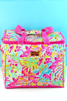 Lilly Pulitzer Insulated Cooler Spot Ya