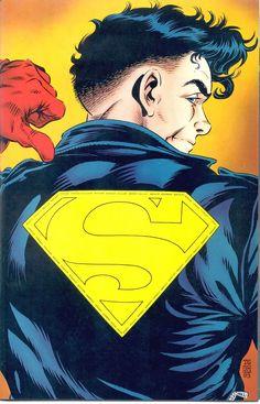superboy 90's dc comics