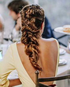 65 Badass Box Braids Hairstyles That You Can Wear Year-Round - Hairstyles Trends Box Braids Hairstyles, Romantic Hairstyles, Pretty Hairstyles, Wedding Hairstyles, Breaking Hair, Wedding Hair Inspiration, Braut Make-up, Pinterest Hair, Hair Dos