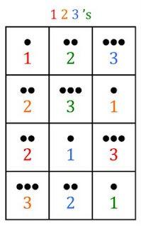 Bingo Mat 1, 2, 3
