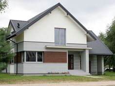House Roof, Facade House, Gable Roof, Home Fashion, Attic, Garage Doors, Shed, Outdoor Structures, Windows