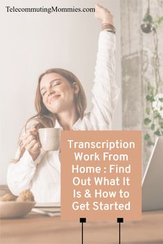 There are many different kinds of work at home jobs. Transcription is a great option for those that want a higher paying and non-phone remote job. Cash From Home, Earn Money From Home, Way To Make Money, Make Money Online, Work From Home Business, Work From Home Moms, Home Blogs, Need A Job, Legitimate Work From Home