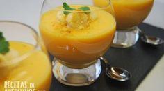 vasito de crema de calabaza al curry