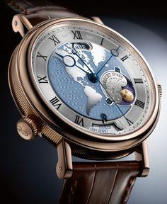 Brequet Depuis 1775 - Classique Hora Mundi - 5717 ($78K)