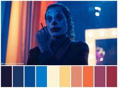 These Colour Palettes Inspired by Famous Movie Scenes Are Beautiful Color Palette Inspo You Absolute Movie Color Palette, Colour Pallette, Color Palate, Joker, Famous Movie Scenes, Color In Film, Cinema Colours, Bg Design, Color Script