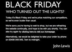 The way people are behaving over this crap is disgusting. Be ashamed, humanity, be ashamed. Black Friday: police attend supermarkets amid scuffles  Shoppers tell of being jostled and even stripped of their bargains as stores open at midnight offering discounts