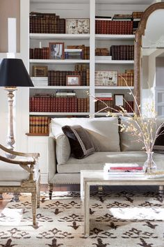 How To Design And Organize A Home Library - Hadley Court - Interior Design Blog