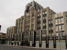 Stunning. Magnificent. Breathtaking. Exquisite. ---> Niagara Mohawk Building, Syracuse, New York State.  http://ullagemotor.wordpress.com/2012/02/14/art-deco-niagara-mohawk-building-syracuse-ny/