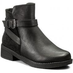 Magasított cipő JENNY FAIRY - WS16383 Fekete 4600b836e1