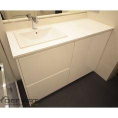 Mobila baie mdf vopsit Sink, Vanity, Bathroom, Home Decor, Vanity Area, Bath Room, Homemade Home Decor, Vessel Sink, Lowboy