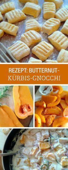 Herbstliches Rezept: Hertzhafte Butternut-Kürbis-Gnocchi zubereiten / autumnal recipe: cooking hearty butternut pumpkin gnocchi via DaWanda.com