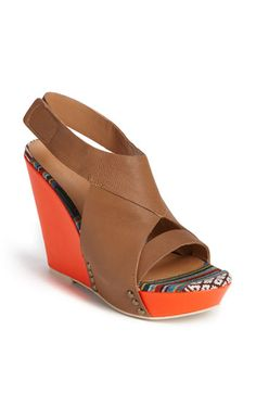 "want these! Joe's 'Tyra"" sandal. Didn't know they made wedges!"