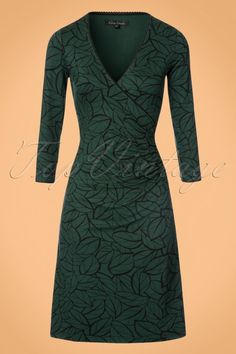 King Louie Green Dress 100 49 21353 20170811 0002W