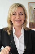 Andrea Galle, Vorständin der BKK VBU und Gewinnerin der VICTRESS Glassbreaker Awards 2013