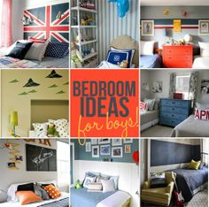Holly Mathis Interiors: Boy bedrooms
